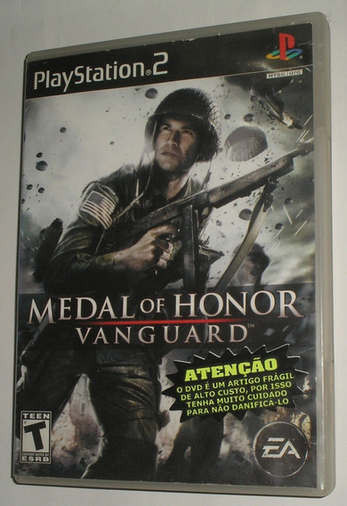 Medal Of Honor Vanguard Ps2 Original Usado