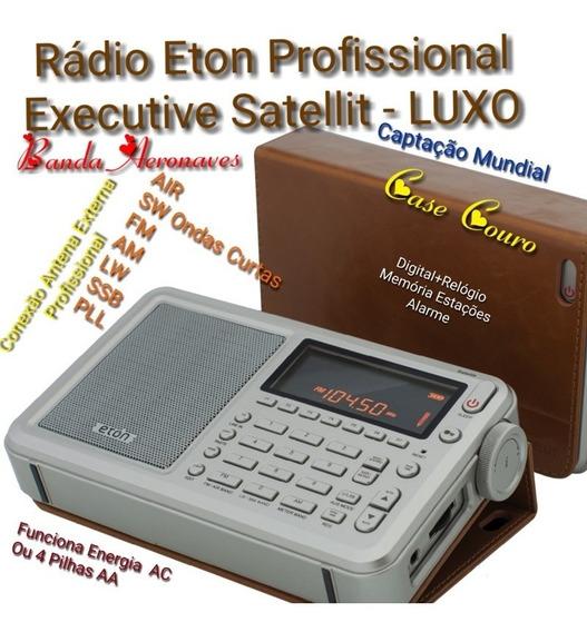 Radio Grundig Eton Executive Satellit Am Fm Lw Sw Oc Air