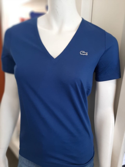 Remera Lacoste Mujer V