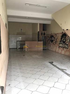 Ótimo Salão Comercial No Bairro De Vila Dalila - 1075