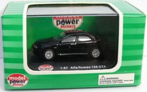 Alfa Romeo 156 Gta, 1/87 H0. Model Power. 10 Vrdes