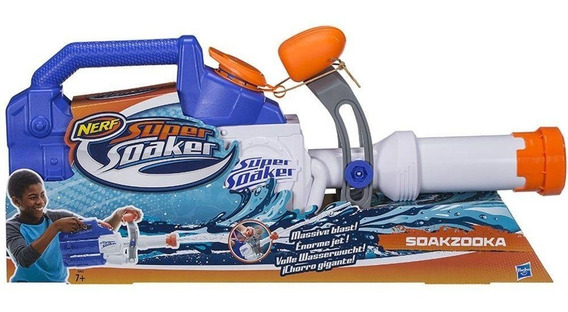 Lança Água Hasbro Soakooka E0022 Nerf