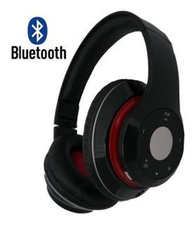 Fone De Ouvido Bluetooth Fm Stereo Radio Card Sd Kp-363 Knup