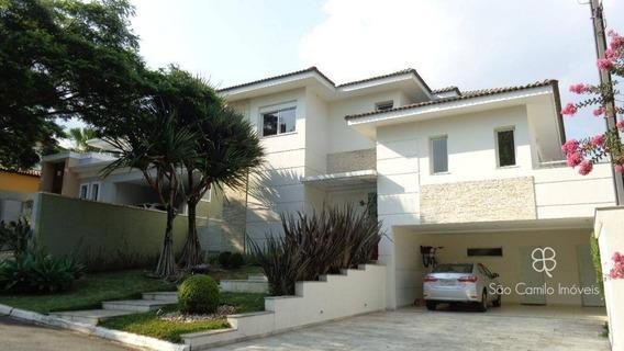 Casa Com 4 Dormitórios À Venda, 422 M² Por R$ 1.620.000 - Nova Higienópolis - Granja Viana - Jandira/sp - Ca1468