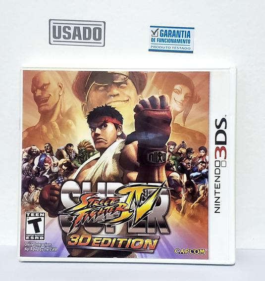 Jogo Super Street Fighter Iv Nintendo 3ds Usado