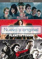 Paq. Robert Rodriguez (aulas Peligrosas / Planeta Terror / C