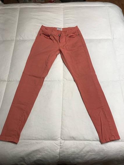 Pantalón Jegging Color Durazno