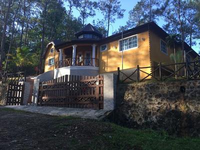 Casa De 3 Habitaciones En Jarabacoa Amueblada For Rent