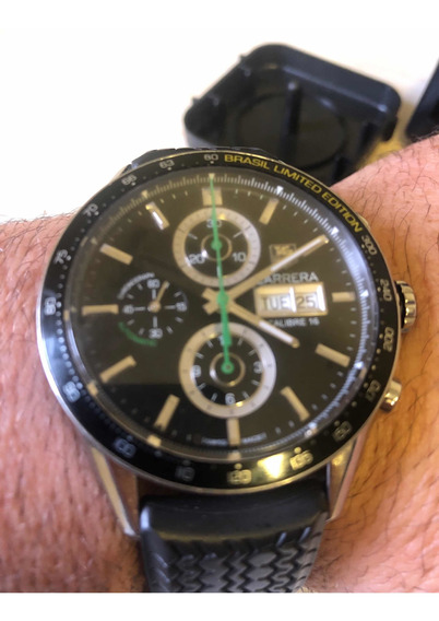 Tag Heuer Calibre 16 Brasil Limited Edition