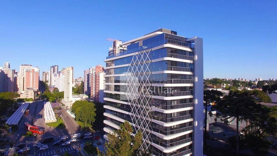Sala Comercial De 75m² No Seminário, Curitiba - Sa0043