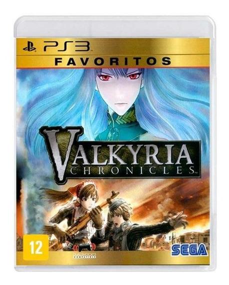 Valkyria Chronicles Ps3 Mídia Física Novo Lacrado