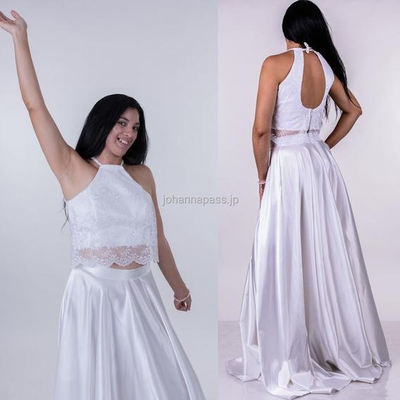 Vestido/conjunto De Fiesta, 15 Años, Novia Con Tul Bordado