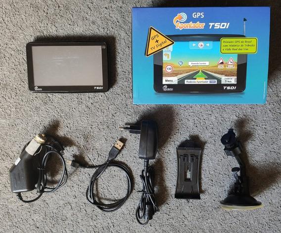 Gps + Tv Digital - Apontador T501