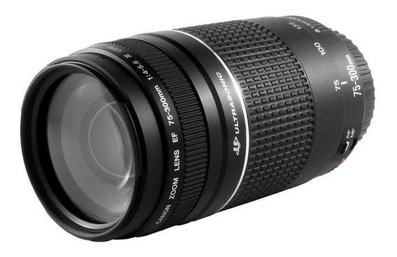 Lente Profissional Canon Ef75-300 F4-5.6 Iii
