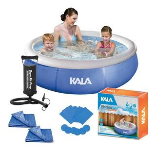 Piscina Infantil 1000l 726591 Kala + Forro + Capa + Bomba