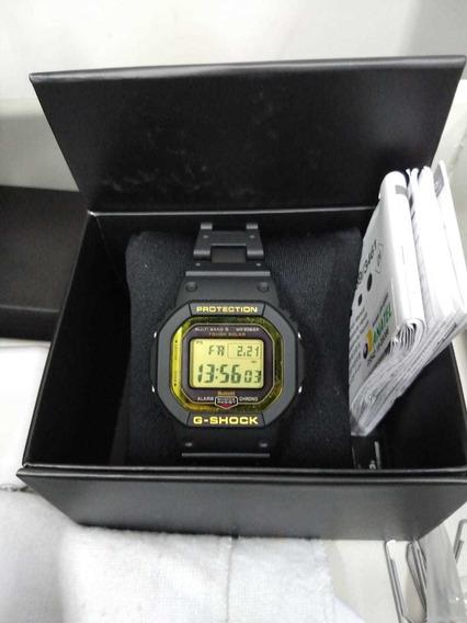 Casio Gshock Gw- B5600 Bc 1b Solar Bluetooth Zerado
