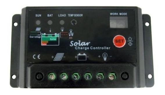 Kit 10 Controladores De Carga Painel Solar 10 Amperes 10a