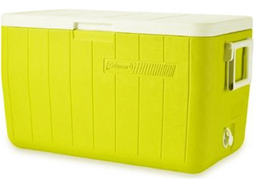 Caixa Térmica Coleman 48 Qt Tampa Articulada 45,4 L Amarelo