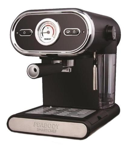 Imagen 1 de 1 de Cafetera Peabody Smartchef PE-CE5002 automática negra expreso 220V