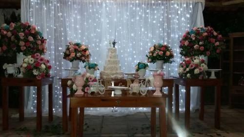 Cortina De Led Para Casamentos Festas Comemorações 110v