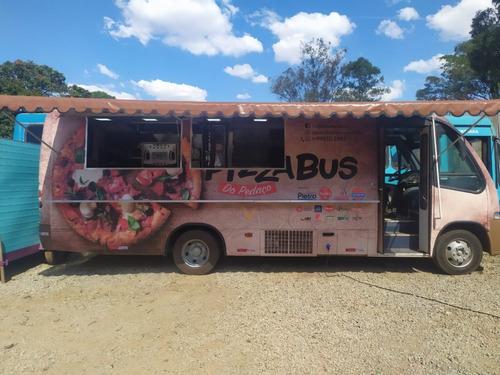 Food Truck Em Microonibus Montagem (sob Encomenda)