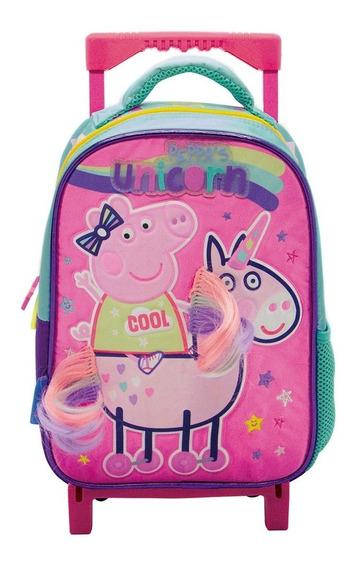 Mochila Carro 12p Peppa Pig Jardin - Sharif Express 061