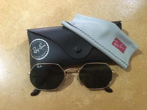 da2d81fb3 Rayban Octagonal De Sol Ray Ban - Óculos no Mercado Livre Brasil