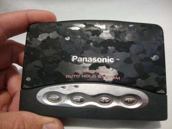 Antigo Walkman Panasonic S-sbs Toca Fita **leia Descrição**