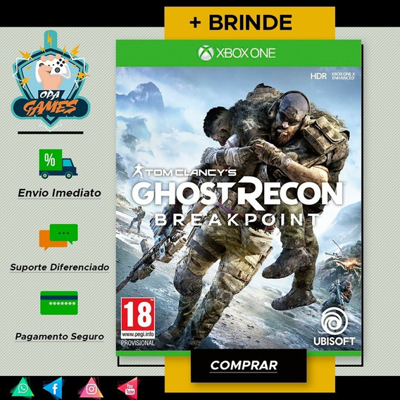 Tom Clancys Ghost Recon® Breakpoint - Mídia Digital