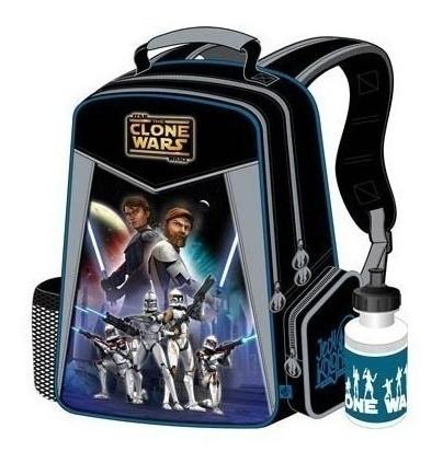 Imagen 1 de 1 de Bolso Morral Escolar Star Wars Grande Niños Capi