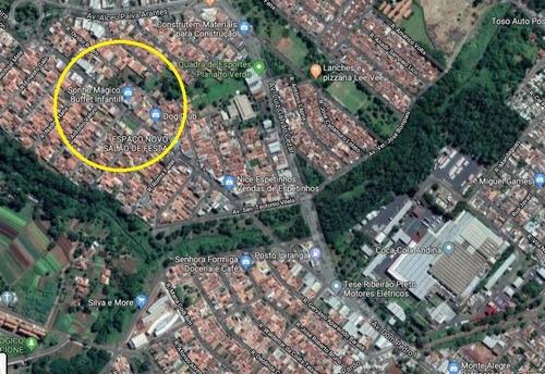 Ótimo Terreno Para Venda Ou Locação No Planalto Verde, Terreno De Esquina Com 557 M2, Plano E Já Murado - Te00340 - 34712422