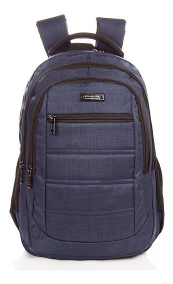Mochila Quaglia Reforzada Porta Notebook Escolar Qs318