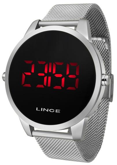 Relógio Prata Lince Mdm4586l Pxsx