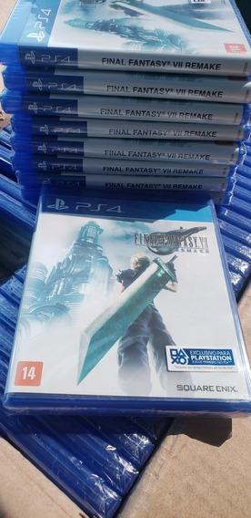 Final Fantasy Vii Remake Ps4 + Frete Grátis Ultra Rápido