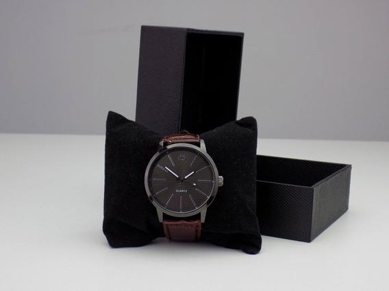 Relógio Masculino Preto Original Promoção + Caixa