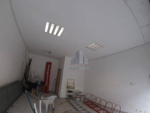 Salão Para Alugar, 35 M² Por R$ 3.000,00/mês - Vila Ana Maria - Mauá/sp - Sl0028