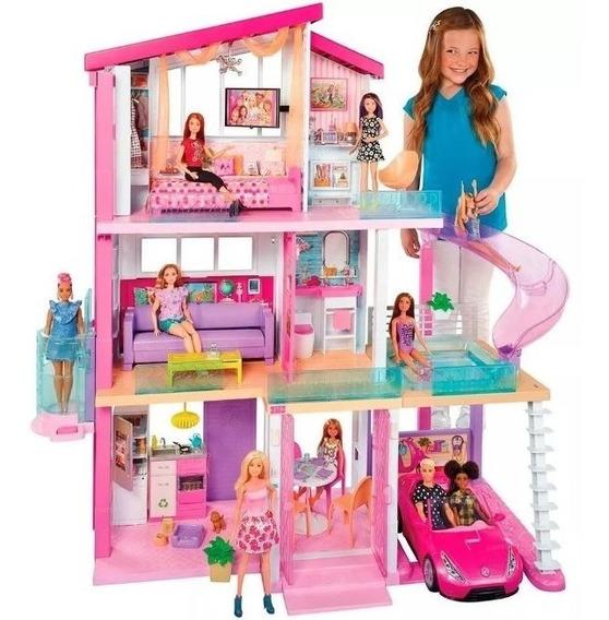 Nova Casa Dos Sonhos Barbie Com Acessórios 76 Cm - Mattel