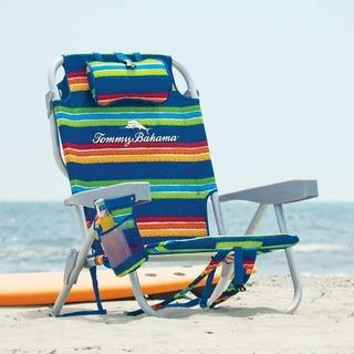 Silla De Playa Tipo Mochila Tommy Bahama Multicolor