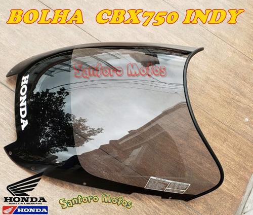 Bolha (para-brisa) Cbx750 Indy C/ Borracha Acabamento
