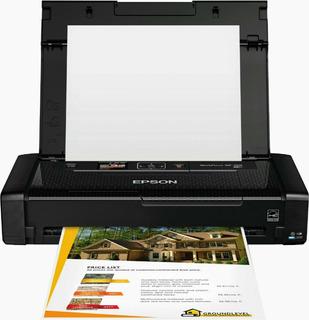 Epson Workforce Wf-100 Impresora Portátil Wi-fi Baterias