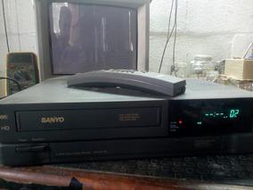 Vídeo Cassete Sanyo 4 Cabeças Vhr9401 Revisado!