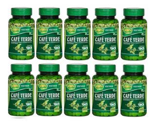Kit 10un. - Café Verde 400mg 90 Comprimidos Unilife Vitamins