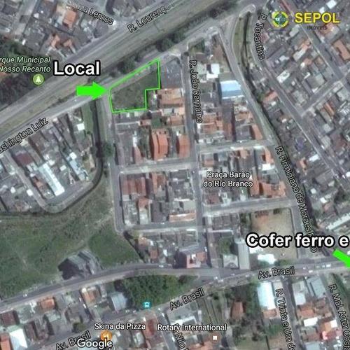 Área À Venda, 1400 M² Por R$ 1.920.000,01 - Jardim Ferrazense - Ferraz De Vasconcelos/sp - Ar0010