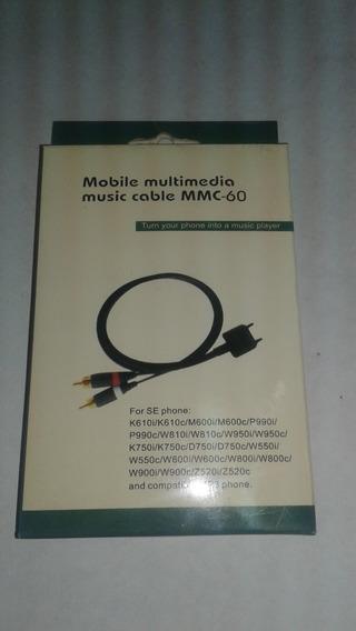 Cable De Música Multimedia Móvil Mmc-60