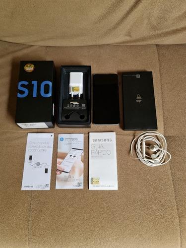 Smartphone Samsung Galaxy S10 Azul 128gb, 8gb Ram