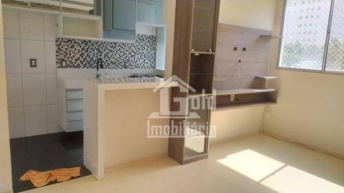 Imagem 1 de 6 de Apartamento Diferenciado No Condomínio Reserva Sul, Todo Reformado Por R$ 190.000,00 - Ap4408