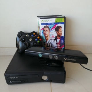 Xbox 360 Usada(excelente Estado)+ Kinect+juegos+ 2 Joysticks
