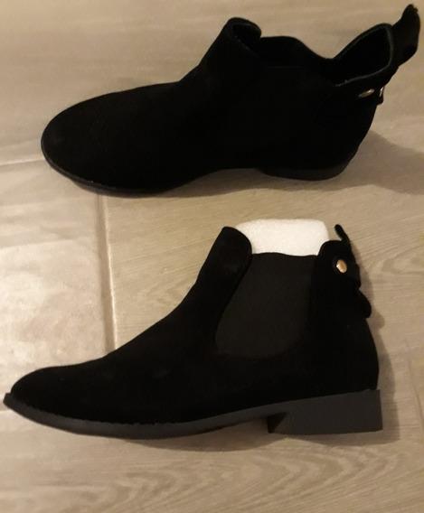 Botin Mujer Ankle Boot Hipster Forever 21 Estilo Zara
