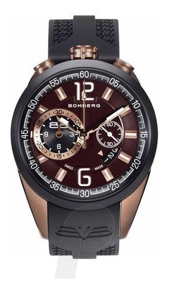 Reloj Bomberg Ns44 Chtt Nuevo 1968 Lujo Caballero Hombre