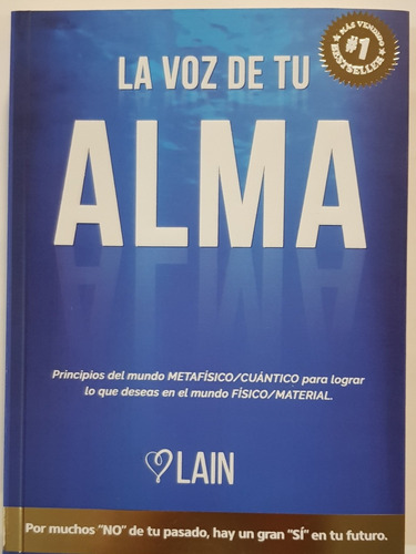 La Voz De Tu Alma  - Lain- Libro Nuevo
